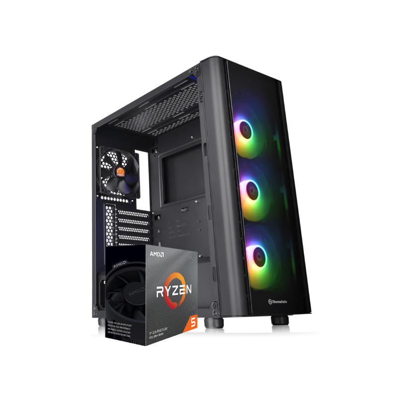 คอมเล่นเกม iHAVECPU Set 32 Ryzen 5 2600 Zotac GTX 1050Ti Ram 8GB Computer by iHAVECPU