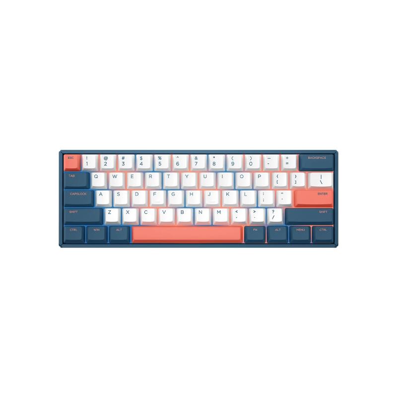 คีย์บอร์ด IQUNIX F60 Coral Sea Mechanical Keyboard (EN)