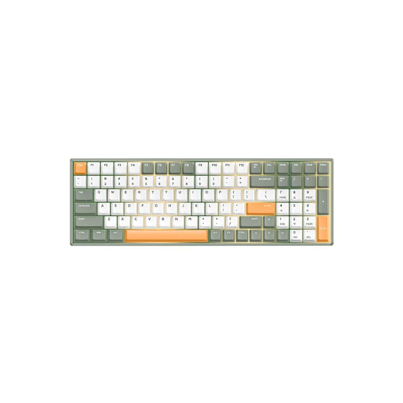 คีย์บอร์ดไร้สาย IQUNIX F96 Avocado Wireless Mechanical Keyboard (EN)