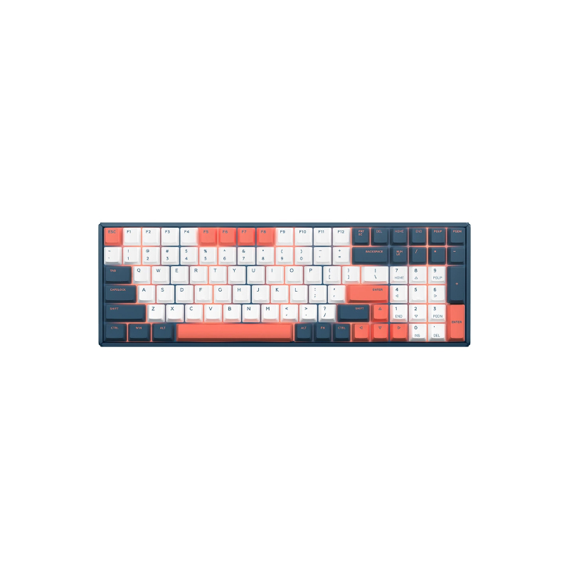 คีย์บอร์ดไร้สาย IQUNIX F96 Coral Sea Wireless Mechanical Keyboard (EN)