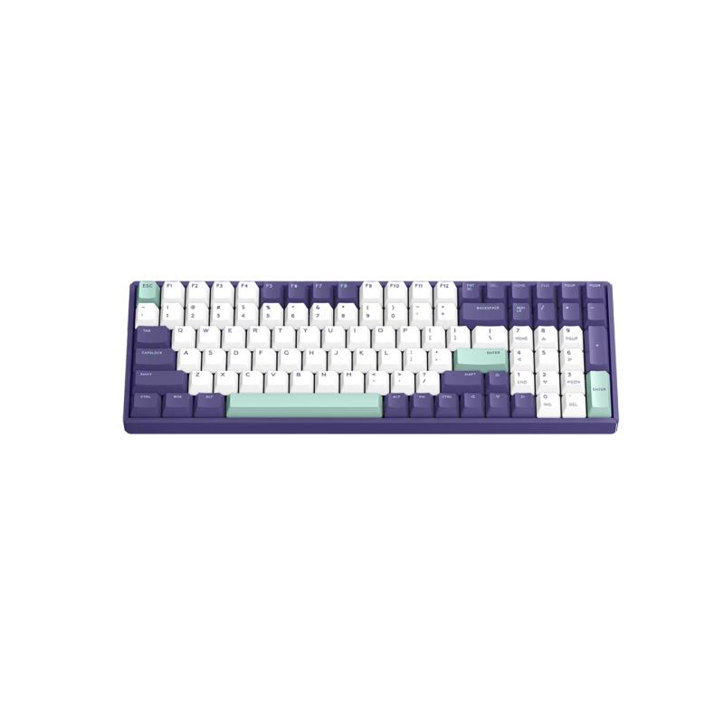 คีย์บอร์ดไร้สาย IQUNIX F96 Grape Milk Wireless Mechanical Keyboard (EN)