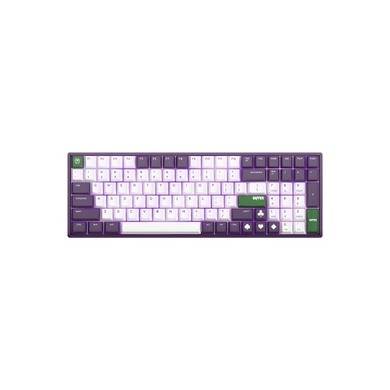 คีย์บอร์ดไร้สาย IQUNIX F96 Joker Wireless Mechanical Keyboard (EN)