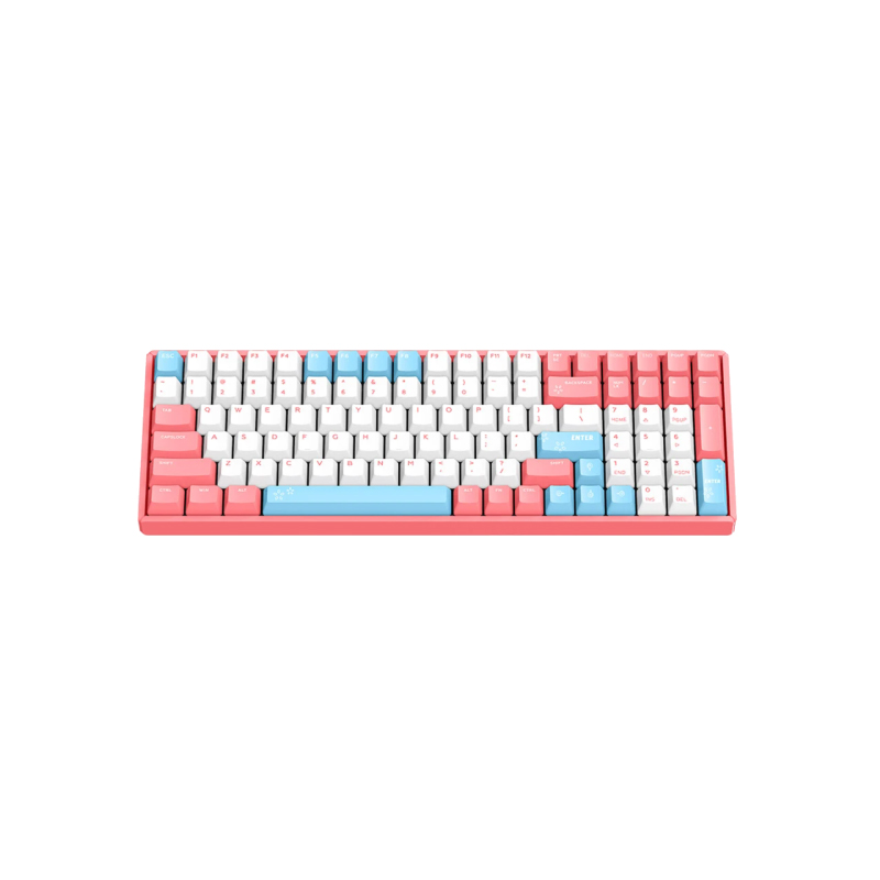 คีย์บอร์ดไร้สาย IQUNIX F96 Peach Wireless Mechanical Keyboard (EN)