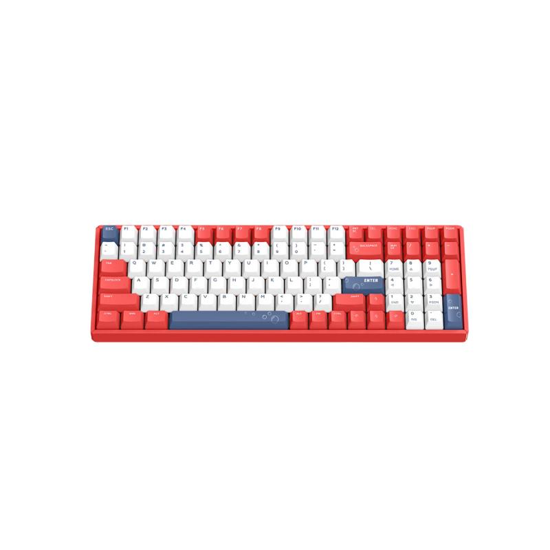 คีย์บอร์ดไร้สาย IQUNIX F96 Soda Bubbles Wireless Mechanical Keyboard (EN)