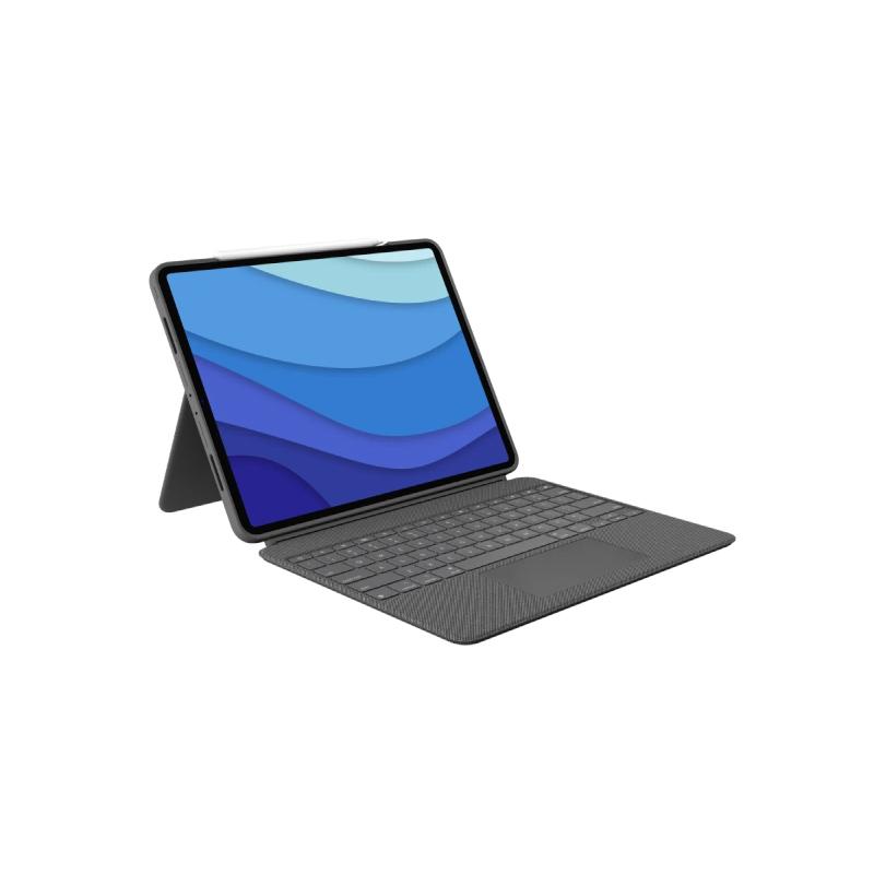 เคสคีย์บอร์ด Logitech Combo Touch Keyboard iPad Pro 12.9 (2021)