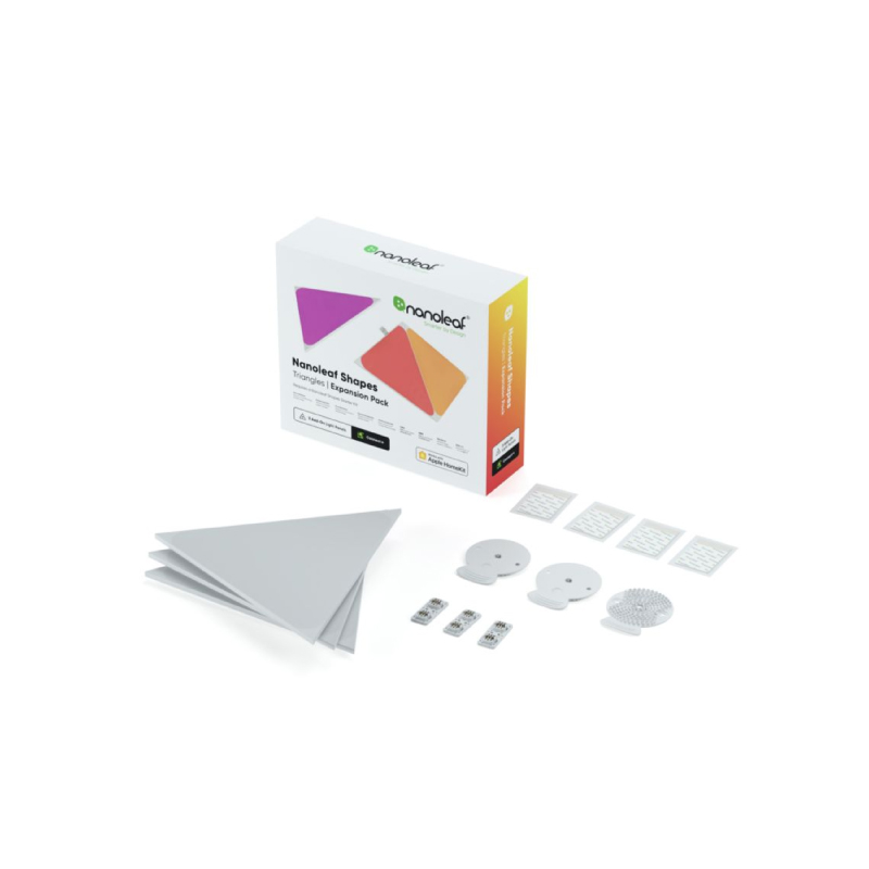 ชุดไฟตกแต่งอัจฉริยะ Nanoleaf Shapes Triangles Expansion Kit (3 Panels)