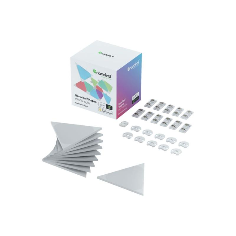 ชุดไฟตกแต่งอัจฉริยะ Nanoleaf Shapes Triangles mini Expansion Kit (10 Panels)