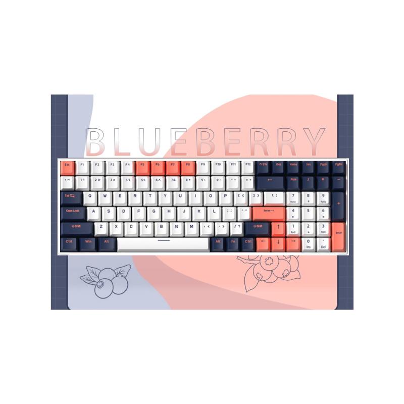 คีย์บอร์ด Royal Kludge RK100 Blueberry Wireless Mechanical Keyboard