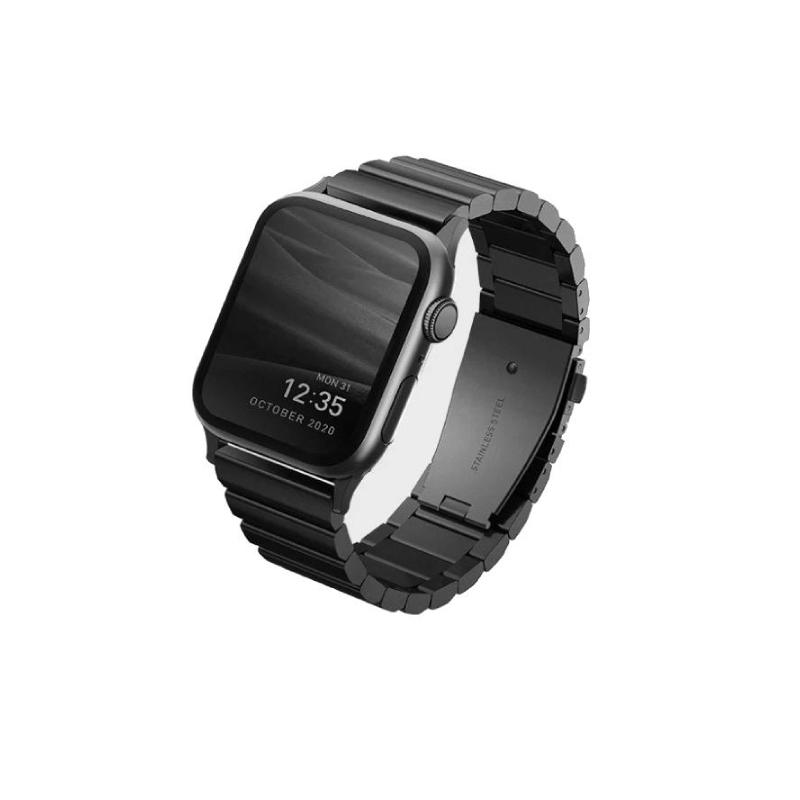 สายนาฬิกา Uniq Strova Steel Link Apple Watch Band 44/42mm