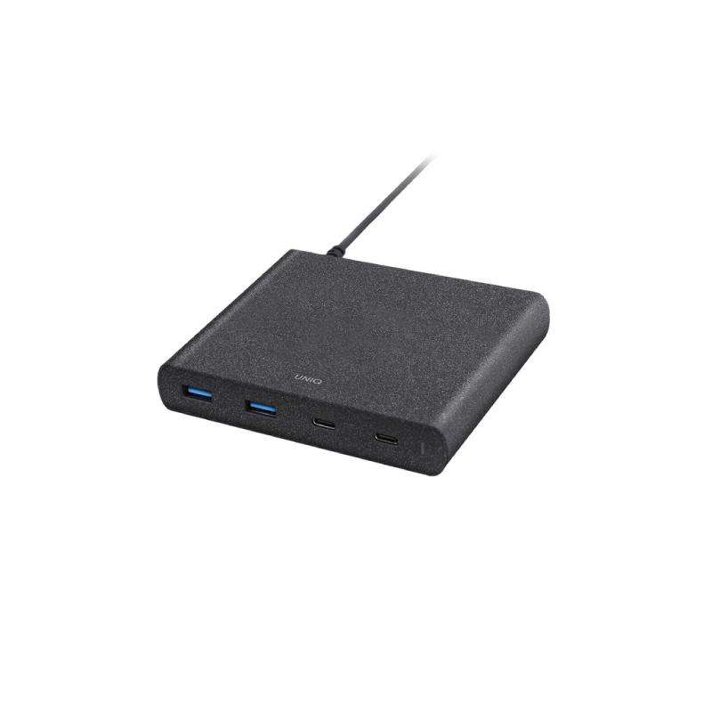 Uniq Surge USB Hub 90W 4USB Duo USB C PD & QC3.0 (US) Charging Station