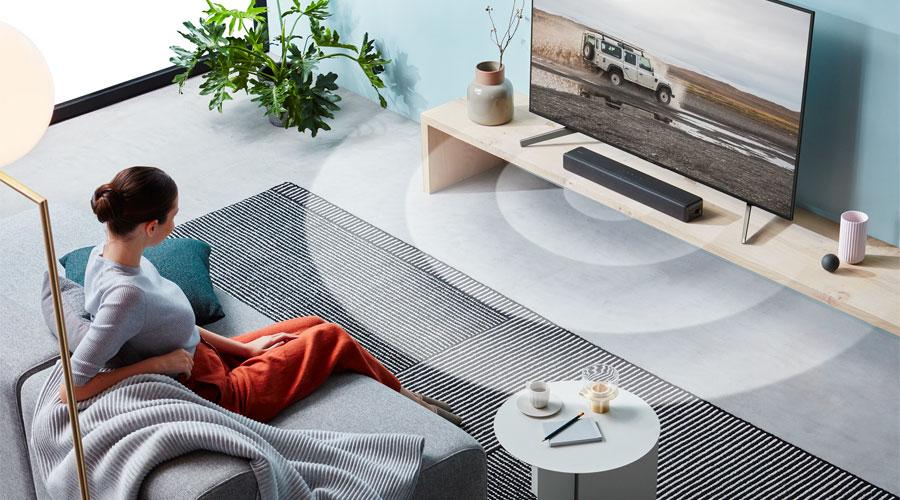 ลำโพง Sony HT-S200F Soundbar เสียงรอบทิศทาง