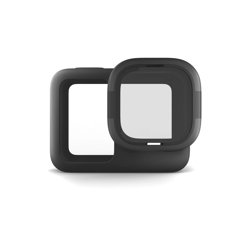 GoPro Rollcage Protective Sleeve + Replaceable Lens for Hero 8 Black