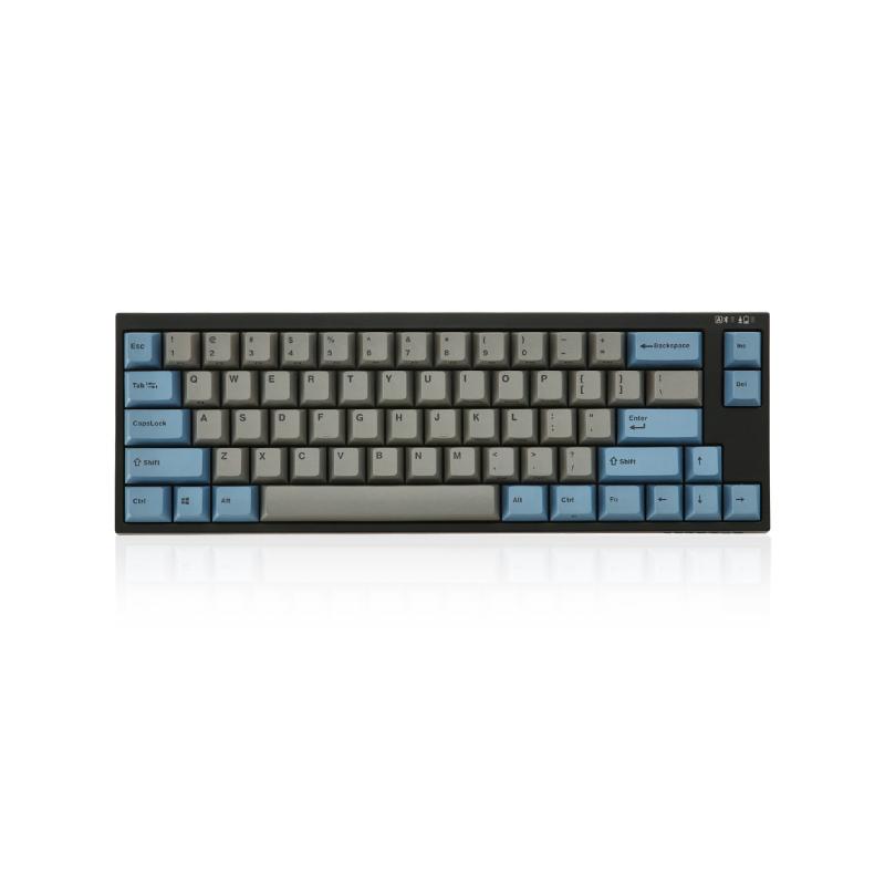 คีย์บอร์ด Leopold FC660MBT Grey/Blue PD Wireless Mechanical Keyboard (EN)