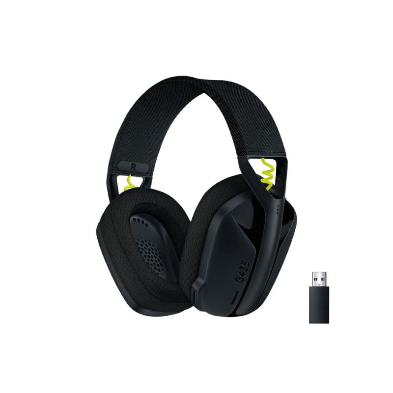 หูฟัง Logitech G435 Lightspeed Gaming Wireless Headphone