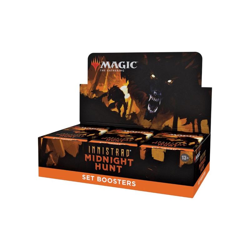 การ์ดเกม Magic The Gathering Innistrad: Midnight Hunt (MID) Set Booster Display (Box of 30)