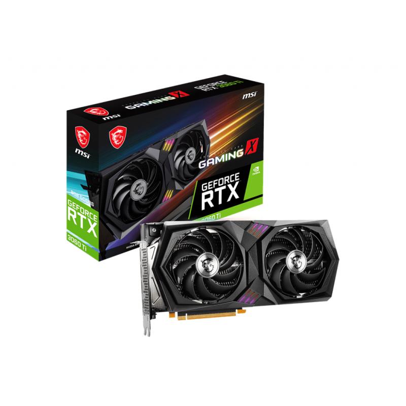 การ์ดจอ MSI GeForce RTX 3060 Ti GAMING X 8G LHR VGA