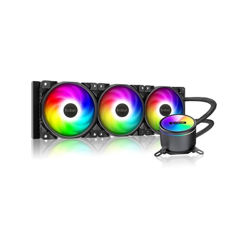 ชุดน้ำ PC Cooler GI-CX360 ARGB CPU AIO Liquid Cooler
