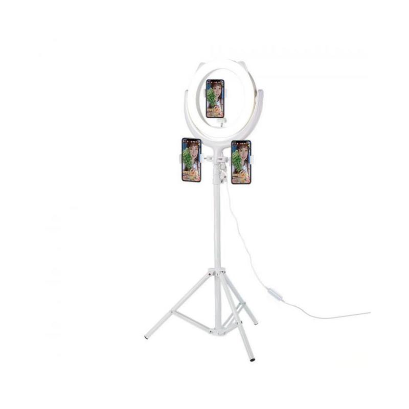 ไม้เซลฟี่ Remax Selfie CK-01 Selfie Stick with Ring Light