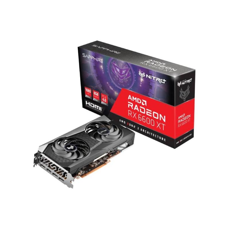 การ์ดจอ Sapphire Nitro+ AMD RADEON RX 6600 XT Gaming OC 8GB GDDR6 VGA