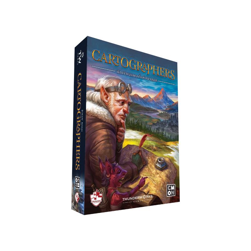 บอร์ดเกม The Stronghold SIAM Cartographers นักเขียนแผนที่แห่งนาลอส TH Board Game