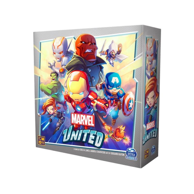 บอร์ดเกม The Stronghold SIAM Marvel United รวมพลังฮีโร่พิทักษ์จักรวาล TH Board Game
