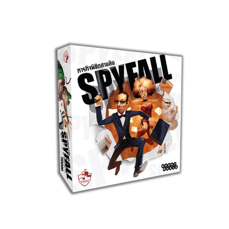 บอร์ดเกม The Stronghold SIAM Spyfall ภารกิจพิชิตสายลับ TH Board Game
