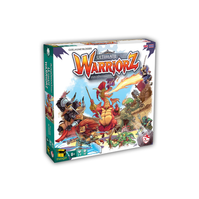บอร์ดเกม The Stronghold SIAM Ultimate Warriorz สมรภูมิยอดนักรบ TH Board Game