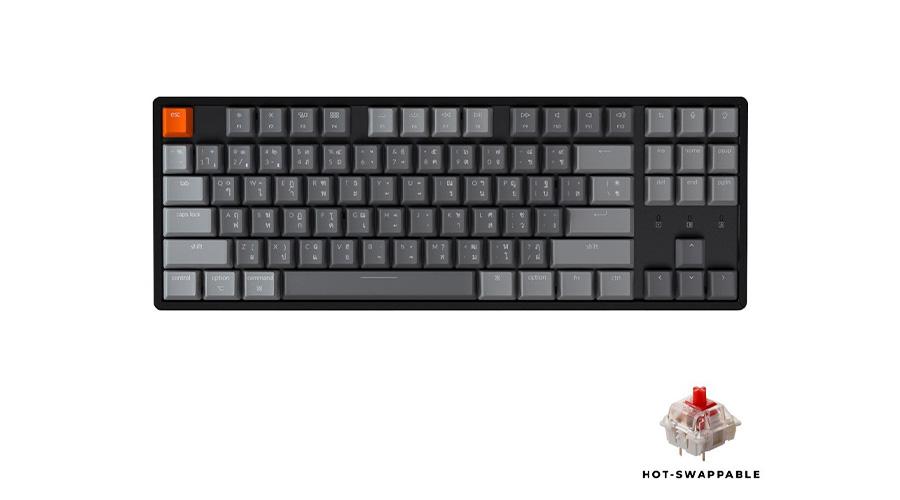 Keychron K8 Hot-swappable Wireless Mechanical Keyboard