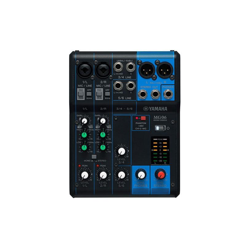 มิกเซอร์ Yamaha MG06 Analog Mixer