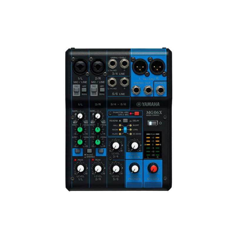 มิกเซอร์ Yamaha MG06X Analog Mixer