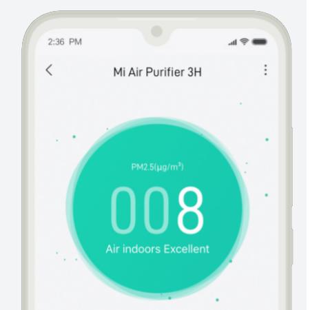 XiaoMi Mi 3H EU Air Purifier เครื่องกรองอากาศ