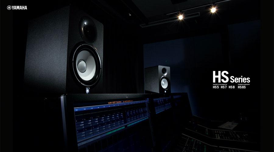 ลำโพง Yamaha HS5I Studio Monitor Black เสียงดี