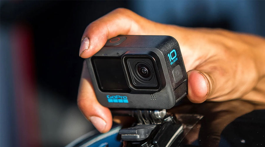 GoPro HERO 10 Black กล้อง Action Cam 5.3K คุณภาพดี โกโปร