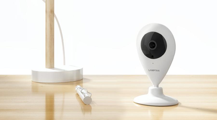 Lamptan Smart Wifi Camera กล้องวงจรปิด
