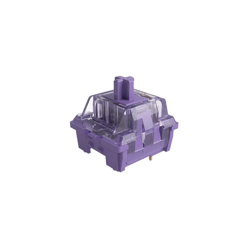 ชุดสวิตช์ AKKO CS Lavender 5 Pin Switch Set[Tactile] (45 Pieces)