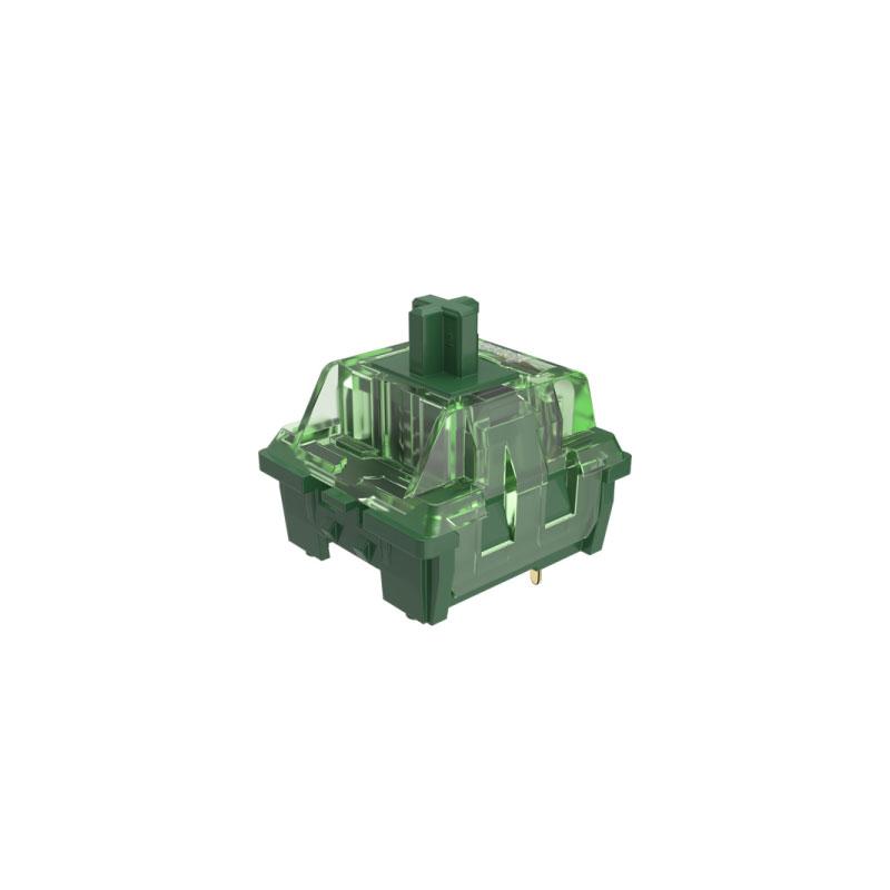 ชุดสวิตช์ AKKO CS Matcha Green 3 Pin Switch Set [Linear] (45 Pieces)