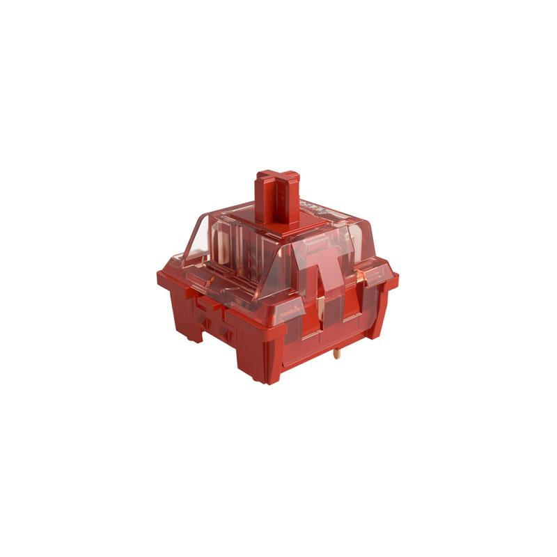 ชุดสวิตช์ AKKO CS Radient Red 3 Pin Switch Set [Linear] (45 Pieces)