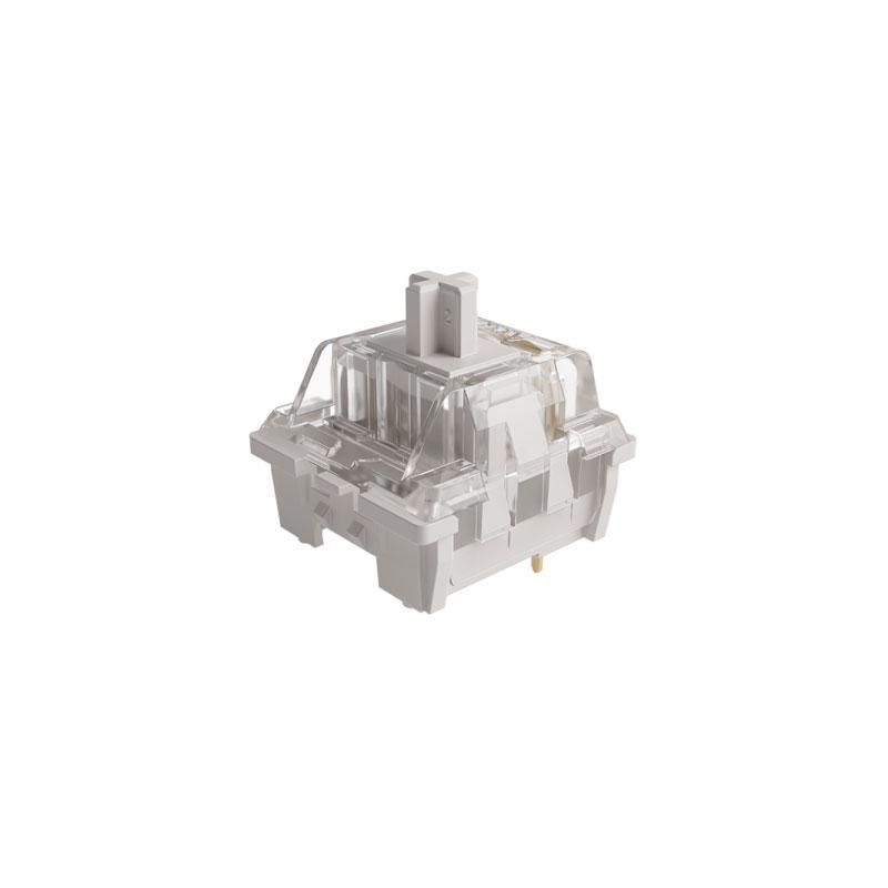 ชุดสวิตช์ AKKO CS Vintage White 3 Pin Switch Set [Linear] (45 Pieces)