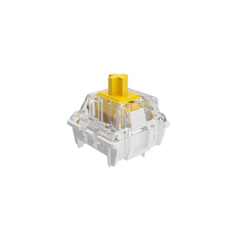 ชุดสวิตช์ AKKO x GATERON Yellow 3 Pin Switch Set [Linear] (45 Pieces)