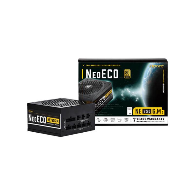 พาวเวอร์ซัพพลาย Antec NeoECO NE750G M 750W 80+ Gold Power Supply