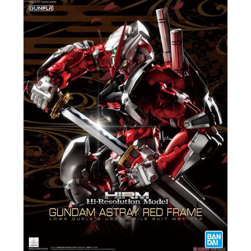 Bandai HiRM 1/100 Gundam Astray Red Frame