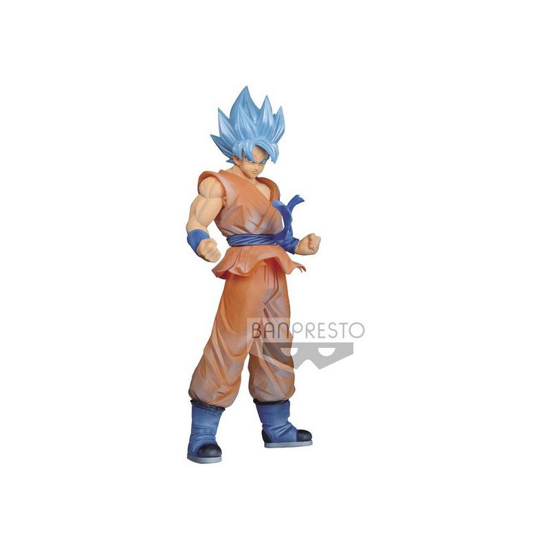 BANPRESTO DRAGON BALL SUPER CLEARISE SUPER SAIYAN GOD SUPER SAIYAN SON GOKU Figure