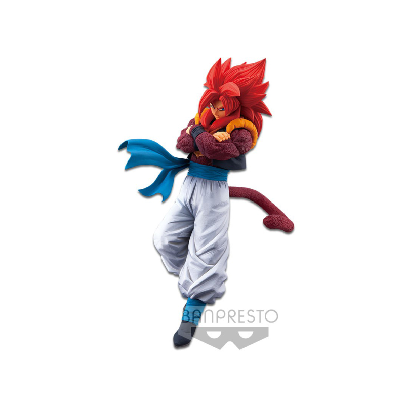 BANPRESTO DRAGON BALL SUPER SON GOKU FES!! VOL.11(B:SUPER SAIYAN 4 GOGETA) Figure