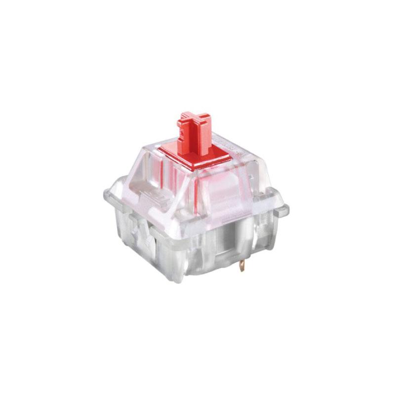 ชุดสวิตช์ Cherry MX Red RGB switch Set Clear (10 Pieces)