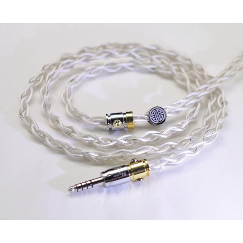 สายอัพเกรดหูฟัง Hakugei Skyrim 6N OCC Litz + Silver Litz Headphone Cable