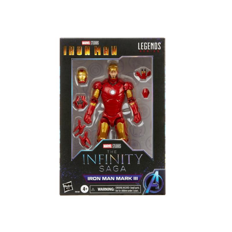Hasbro Marvel Legends Series Iron Man Mark III