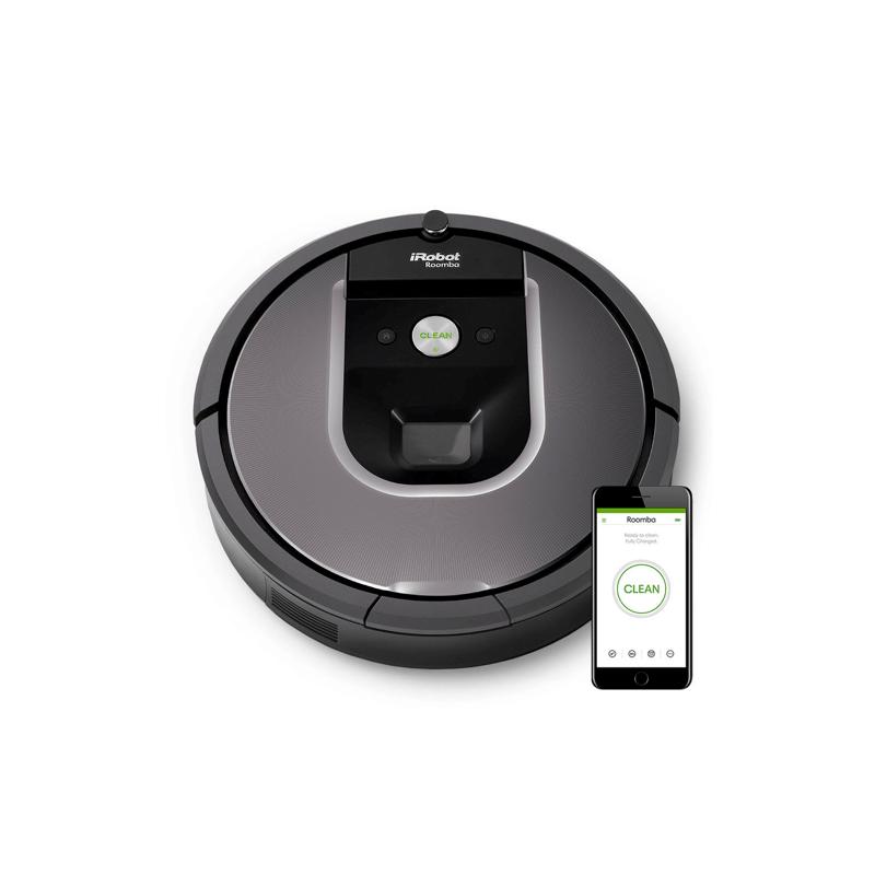 หุ่นยนต์ดูดฝุ่น iRobot Roomba 960 Robot Vacuum Cleaner