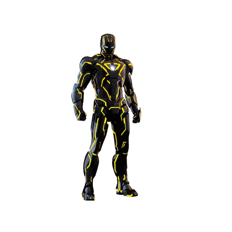 ฟิกเกอร์ Hot Toys Iron Man MK4 1/6 Scale (Neon Tech Ver. 2.0) (Diecast) Figure