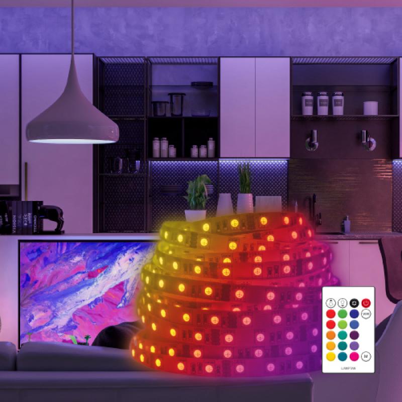 ไฟเส้นอัจฉริยะ Lamptan LED Smart WiFi Strip Colour Lightstrip 3m