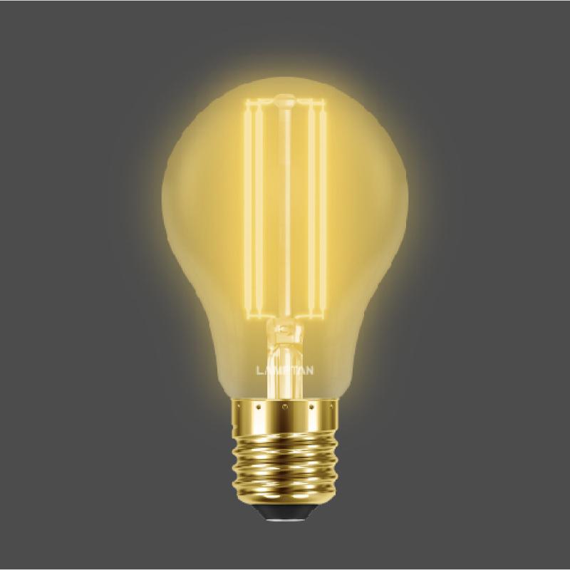 หลอดไฟอัจฉริยะ Lamptan LED Smart WiFi Vintage Amber Smart Bulb